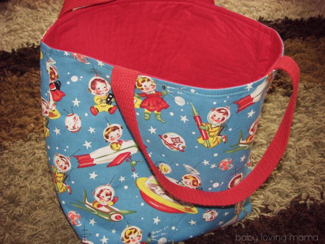 Woobie Designs Handmade Tote Bag
