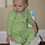 Wordless Wednesday- Warren and the Potty #2