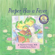 Dr. Hippo Series {Giveaway} Event – Peeper Has A Fever