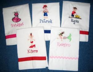 Stitches So Sweet Pillowcases