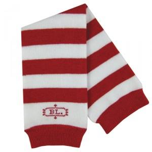 Baby Legs Red & White