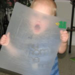 Warren & the Cutting Board ~Silly Photo Contest