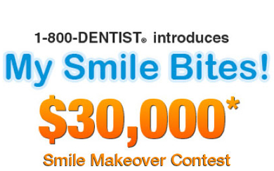 Win a Smile Makeover from 1-800-Dentist {Check it Out!}