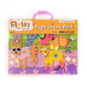 Felt Tales Pups in the Park