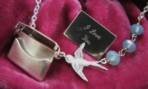 Jewelry by Artwark Bird Locket