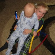 Wordless Wednesday ~ Being on top is fun…