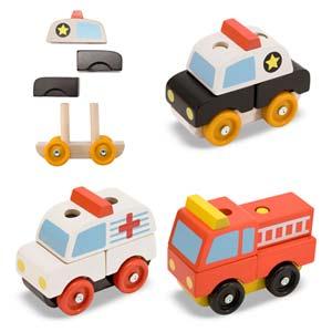 Gift Hero Stacking Emergency Vehicles