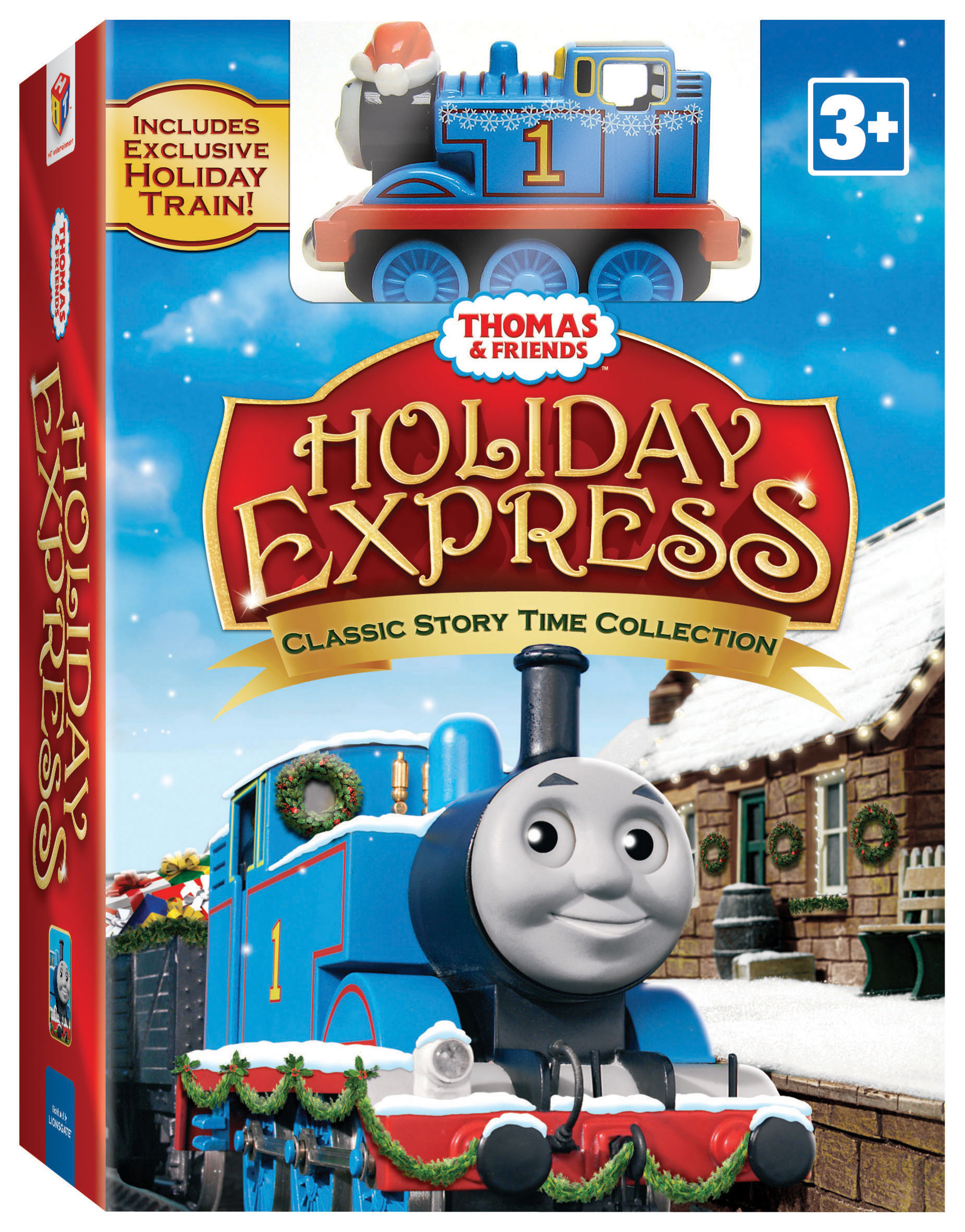 Thomas & Friends: Holiday Express {Review & Giveaway}