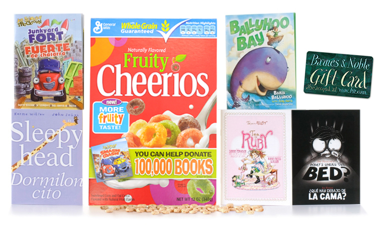 Cheerios 100,000 Book Giveaway {Giveaway}