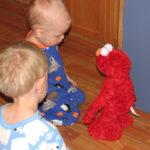 Wordless Wednesday ~ I Love You Elmo!