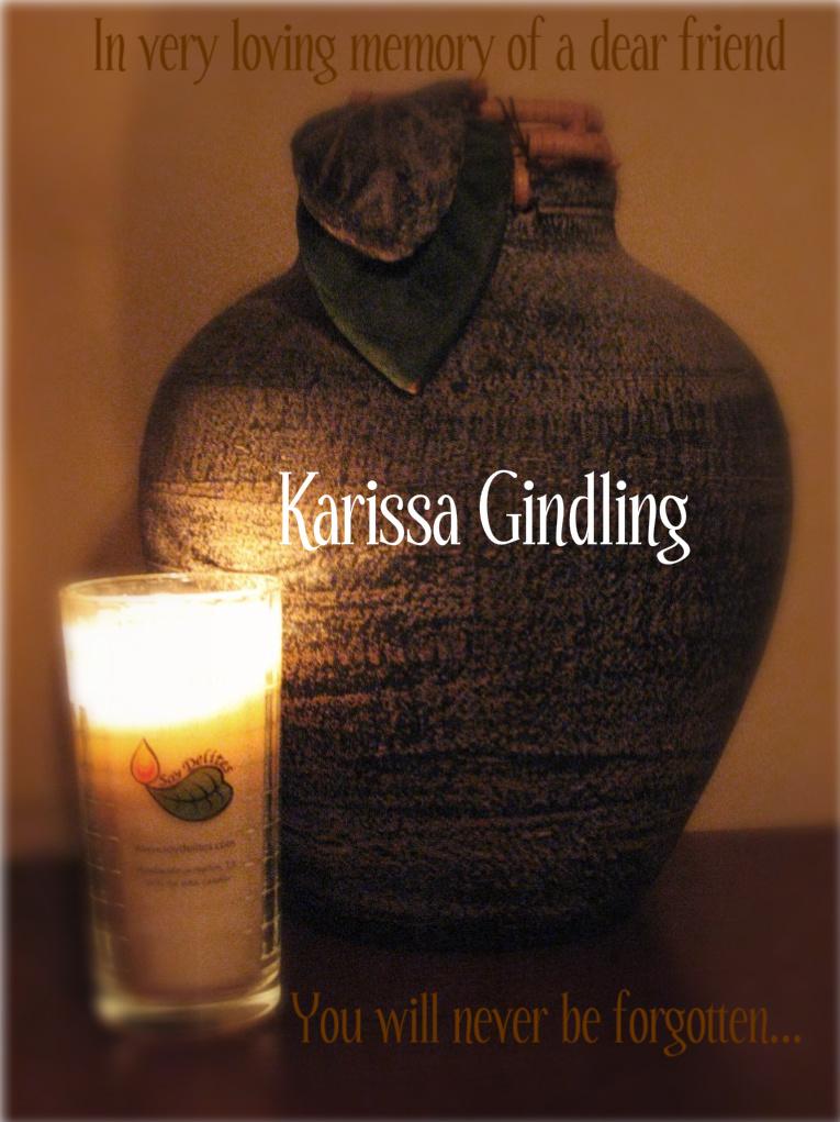 Wordless Wednesday ~ In Loving Memory of Karissa