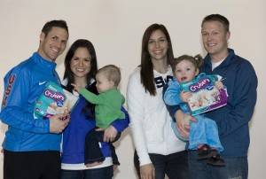 Pampers Olympics Family