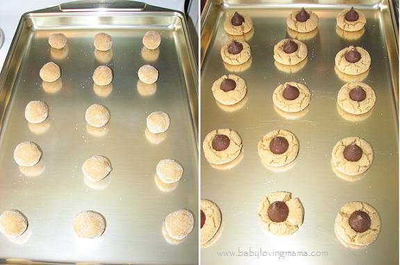 Peanut Blossom Cookies