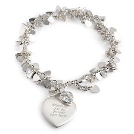 Things Remembered Flutter Heart Bracelet {Celebration ...