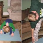 Wordless Wednesday ~ Yoga with Daddy
