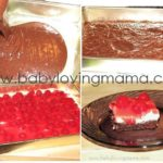 Cherry Topped Brownie Dessert Squares Recipe