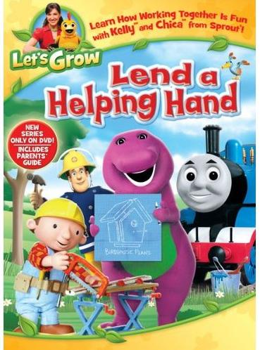 Let's Grow: Lend a Helping Hand {Review & Giveaway}