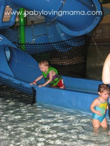 Lucian at Water Park