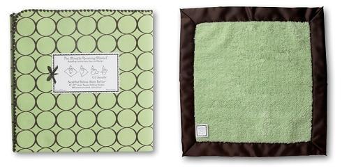 Swaddle Designs Ultimate Receiving Blanket & Lovie