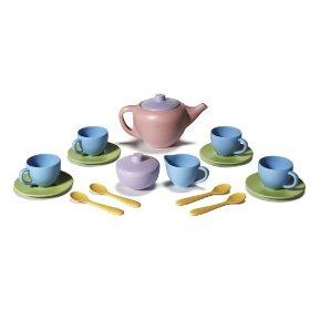 Amazon Easter Green Toys Tea Set