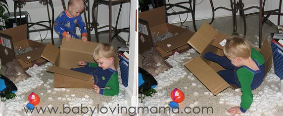 Packing Peanuts with Kids 2