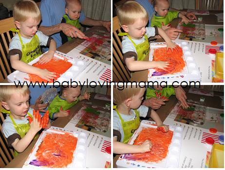 Creativity for Kids Finger Prints 1