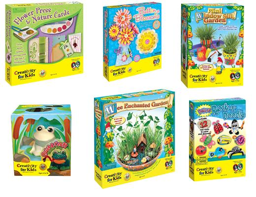 Creativity for Kids Spring Craft Pack