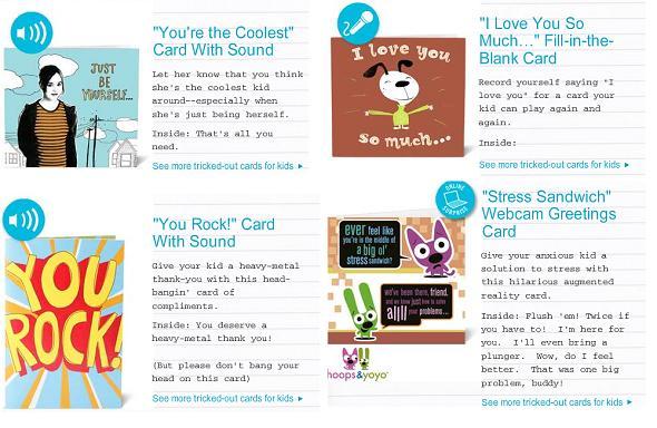 Hallmark Kids Collection Cards