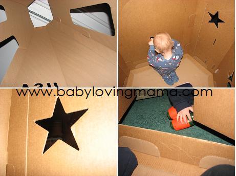 Kidscraft Shuttle Interior