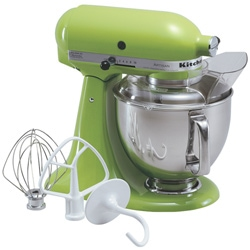 KitchenAid 5qt stand mixer green apple