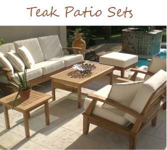 Outdoor Furniture Plus Teak Seating
