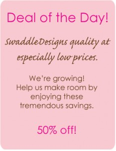 Swaddle Designs dealoftheday-header