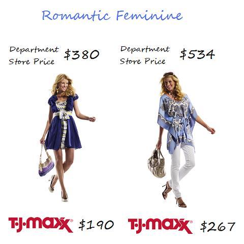 TJ Maxx Romantic Feminine