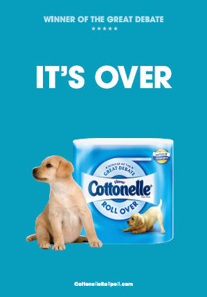 Cottonelle Its Over
