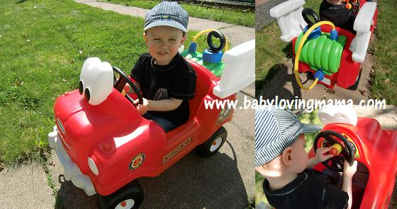 Little Tikes Fire Truck 2