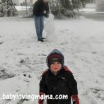 Wordless Wednesday – The Short Life of a Snowman