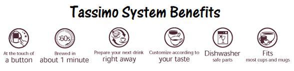 Tassimo System Benefits