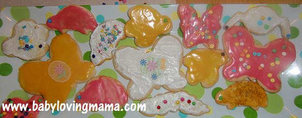 Wilton Sugar Cookies Finished Product