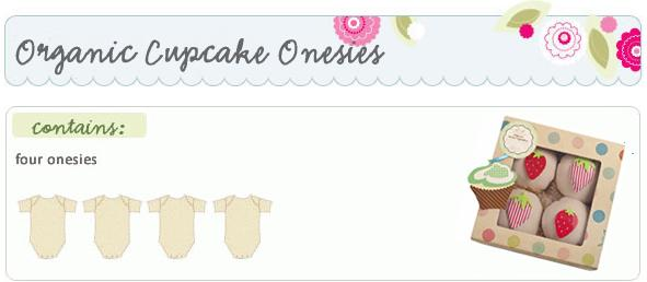 Baby Bunch Organic Cupcake Onesies