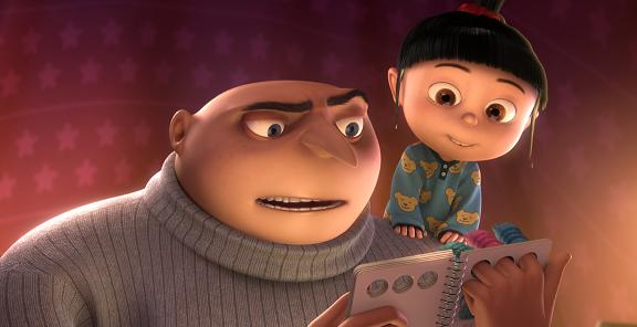 Despicable Me Gru and Agnes