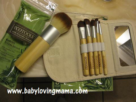 EcoTools Bamboo Cosmetic Brushes {Review & Giveaway}
