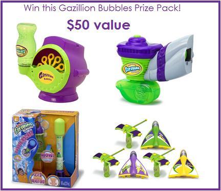 Gazillion Bubble Prize Pack