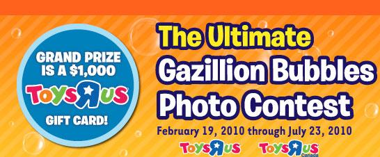 Gazillion Ultimate Bubbles Contest
