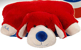 Patriotic My Pillow Pet Puppy {Giveaway}