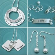 The Vintage Pearl Handstamped Jewelry {Spring Event Giveaway #9} CLOSED