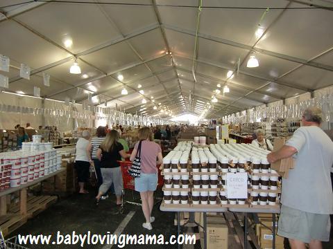 Wilton Tent Sale