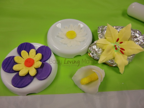 Flowers Design Gum Paste 1w