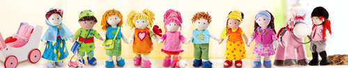 HABA Soft Dolls ~ A Little Girl's Best Friend {Review}
