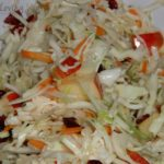 Easy & Healthy Apple Cranberry Slaw from Kraft Foods {Recipe}