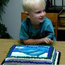 Happy 4th Birthday Lucian- I can't believe it is your birthday!